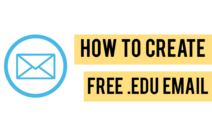 how to get free .edu email address