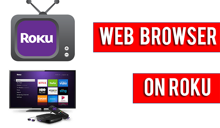 web browser on roku