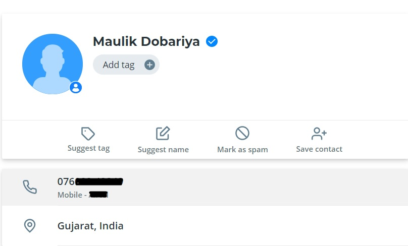 truecaller search by name