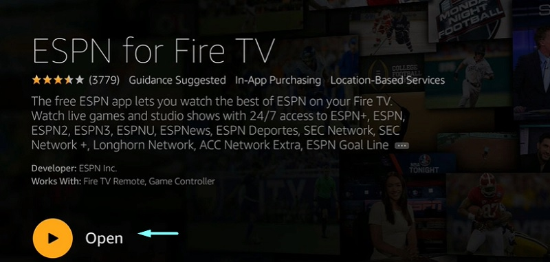 ufc on firestick with espn