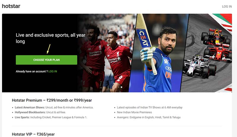 Sign Up for Indian Hotstar in the USA