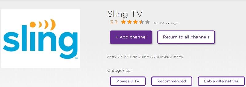 Watch MSNBC on Roku Via Sling TV