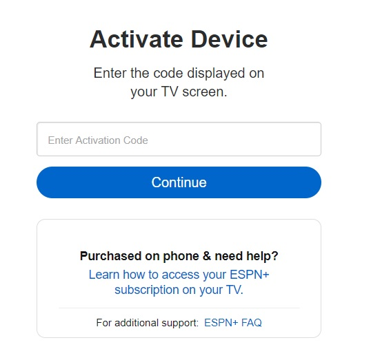 activate ESPN on ps4